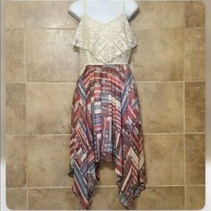 NEW Maurices Crotchet Multi Color Dress